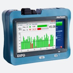 EXFO MaxTester 730C Front view