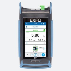 EXFO OX1-PRO-I-88 Optical Fiber Multimeter Front view
