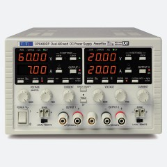 TTI CPX400DP Power Supply Front view