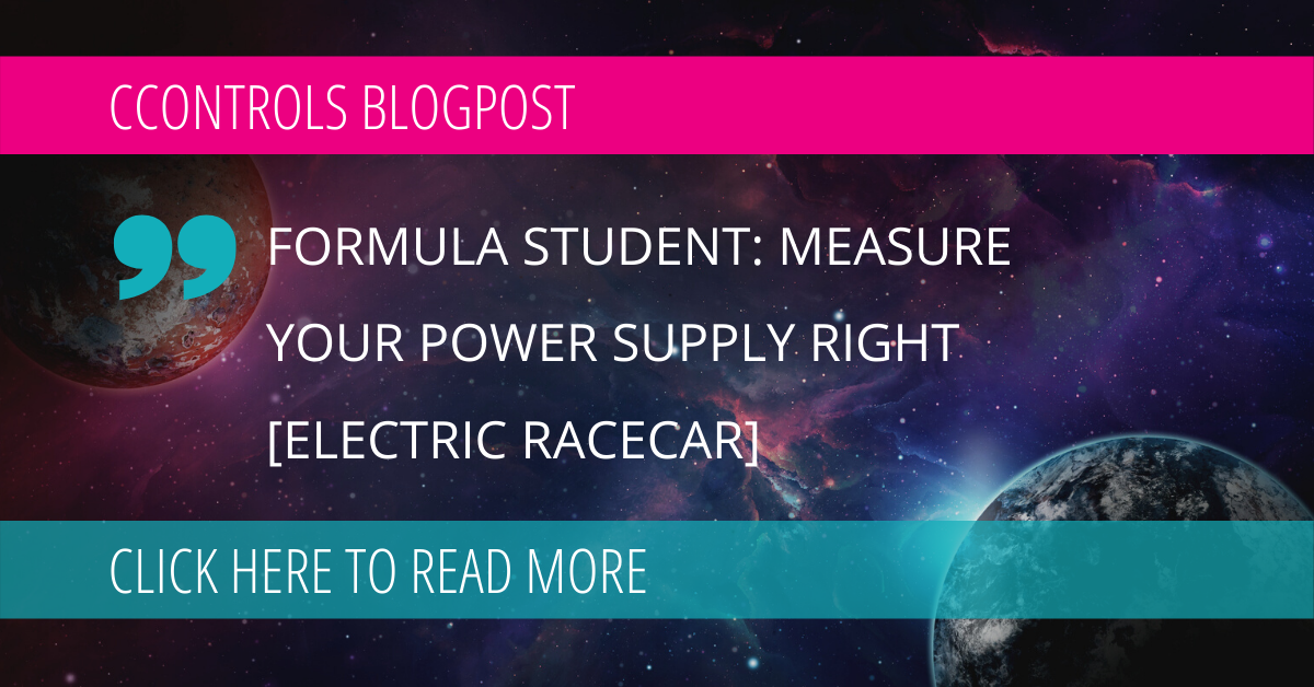 Formula Student: Measure Your Power Supply Right [Electric Racecar]