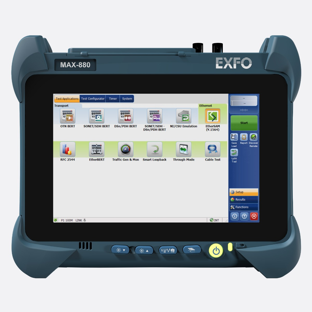 EXFO_MAX-800-series_front_Ccontrols