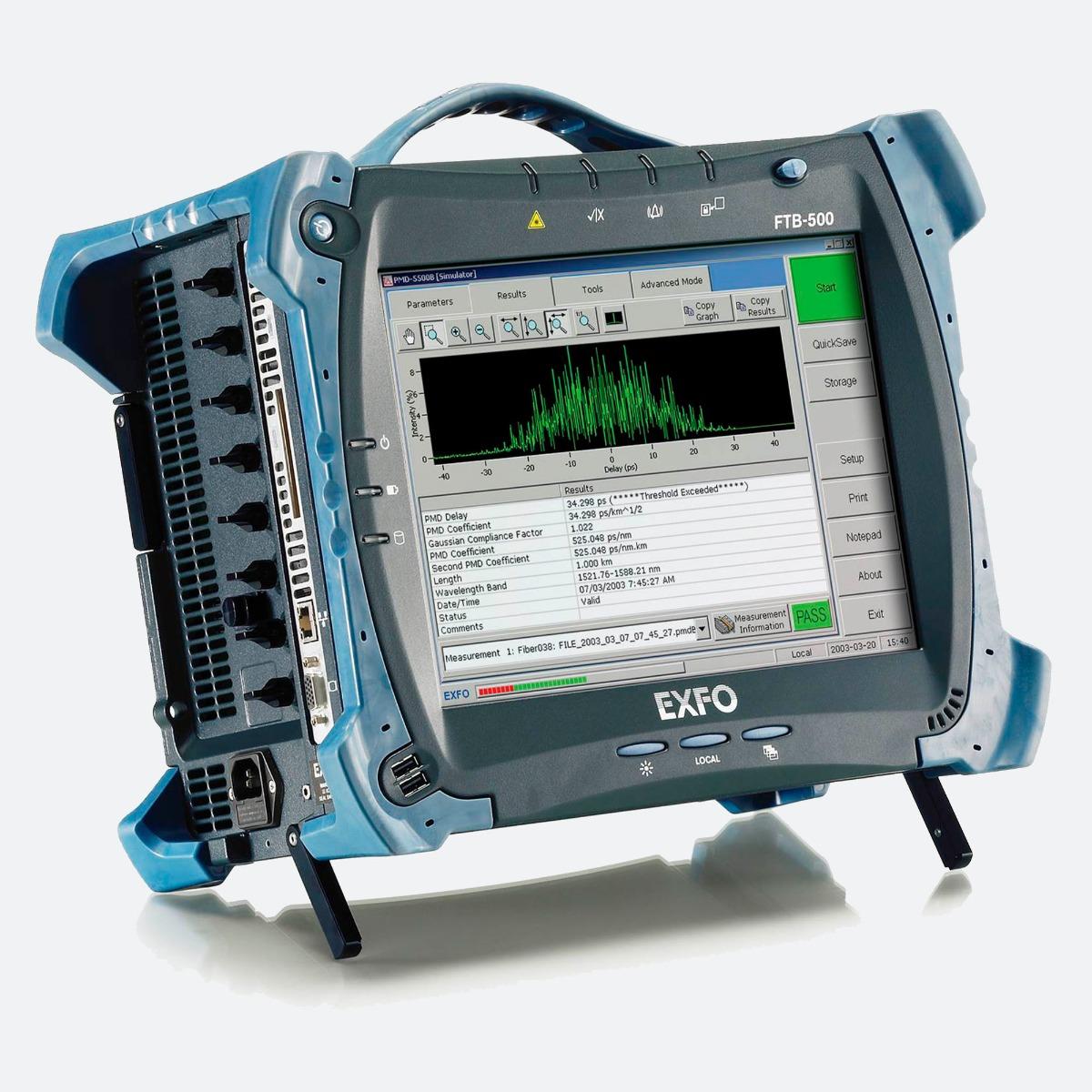 EXFO FTB-5500B PMD analyzer