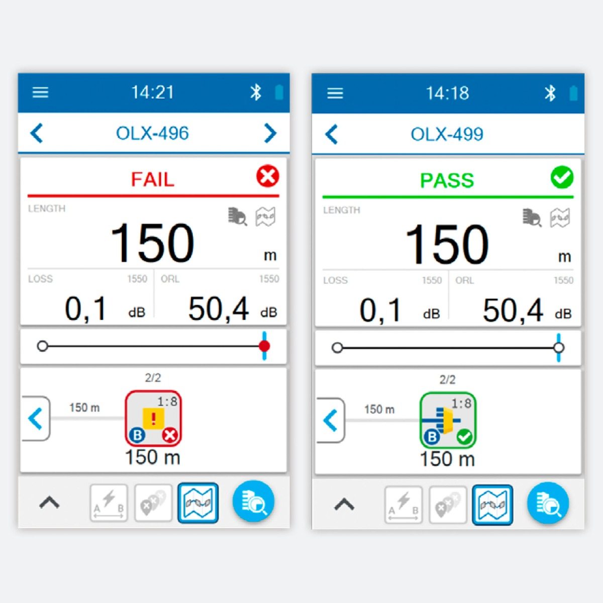 EXFO OX1-PRO-I-88 Optical Fiber Multimeter CControls