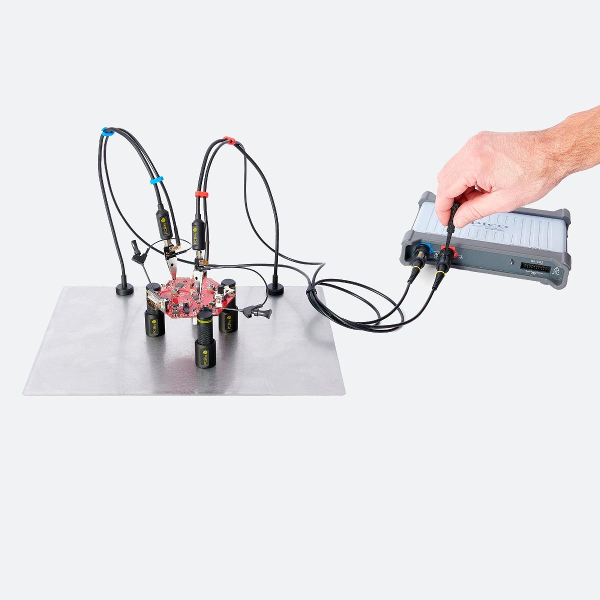 PCBite kit with 2x SP200 200 Mhz handsfree oscilloscope probes [4016]