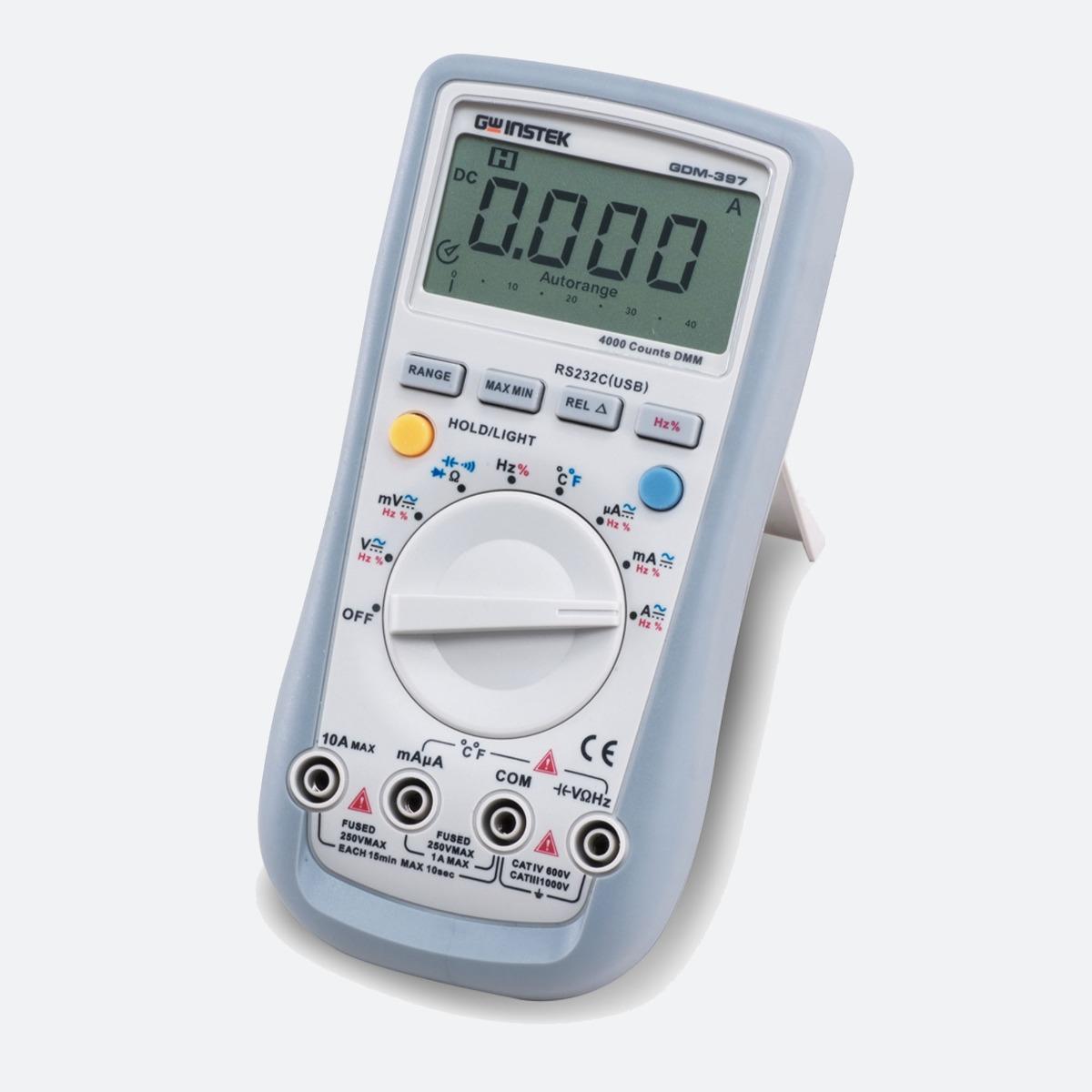 GW Instek GDM-397 Handheld Multimeter CControls