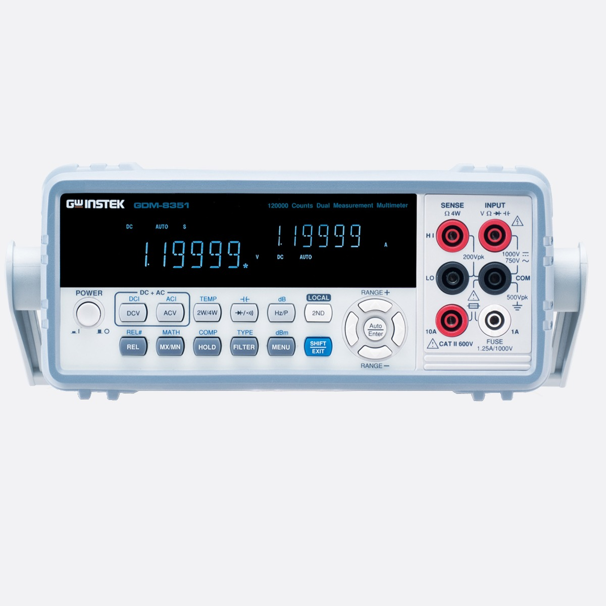 GWInstek_GDM-8351_front_Ccontrols