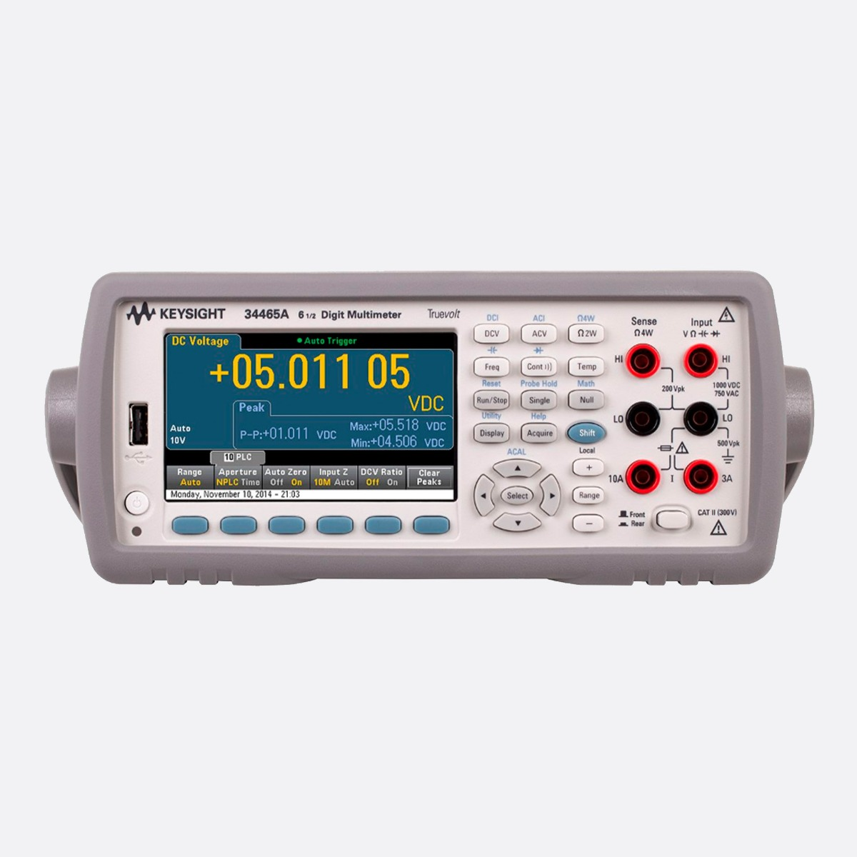 Keysight_34465A_front_Ccontrols