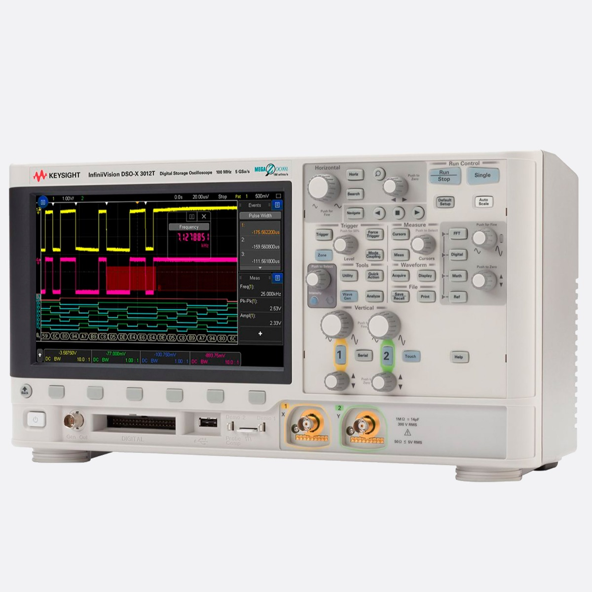 Keysight_DSOX3012T_Front-Right_Ccontrols