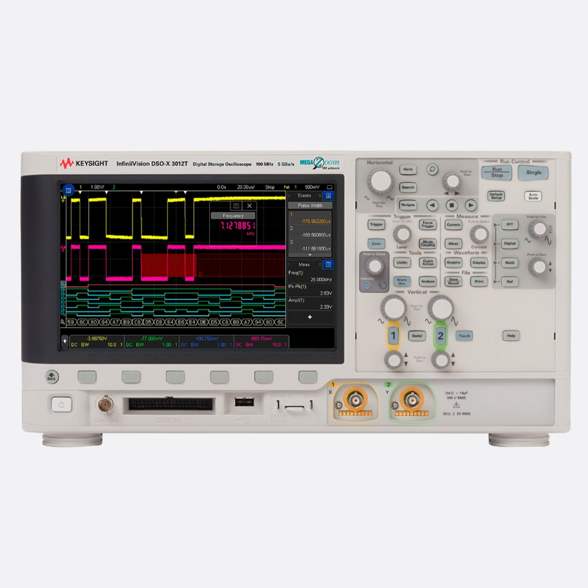 Keysight_DSOX3012T_Front_Ccontrols