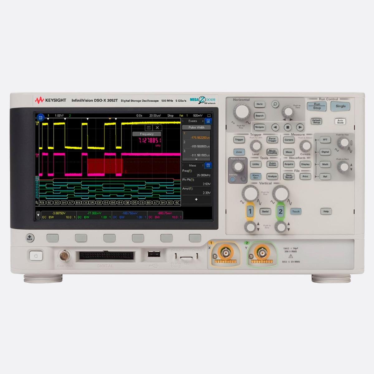 Keysight_DSOX3052T_Front_Ccontrols