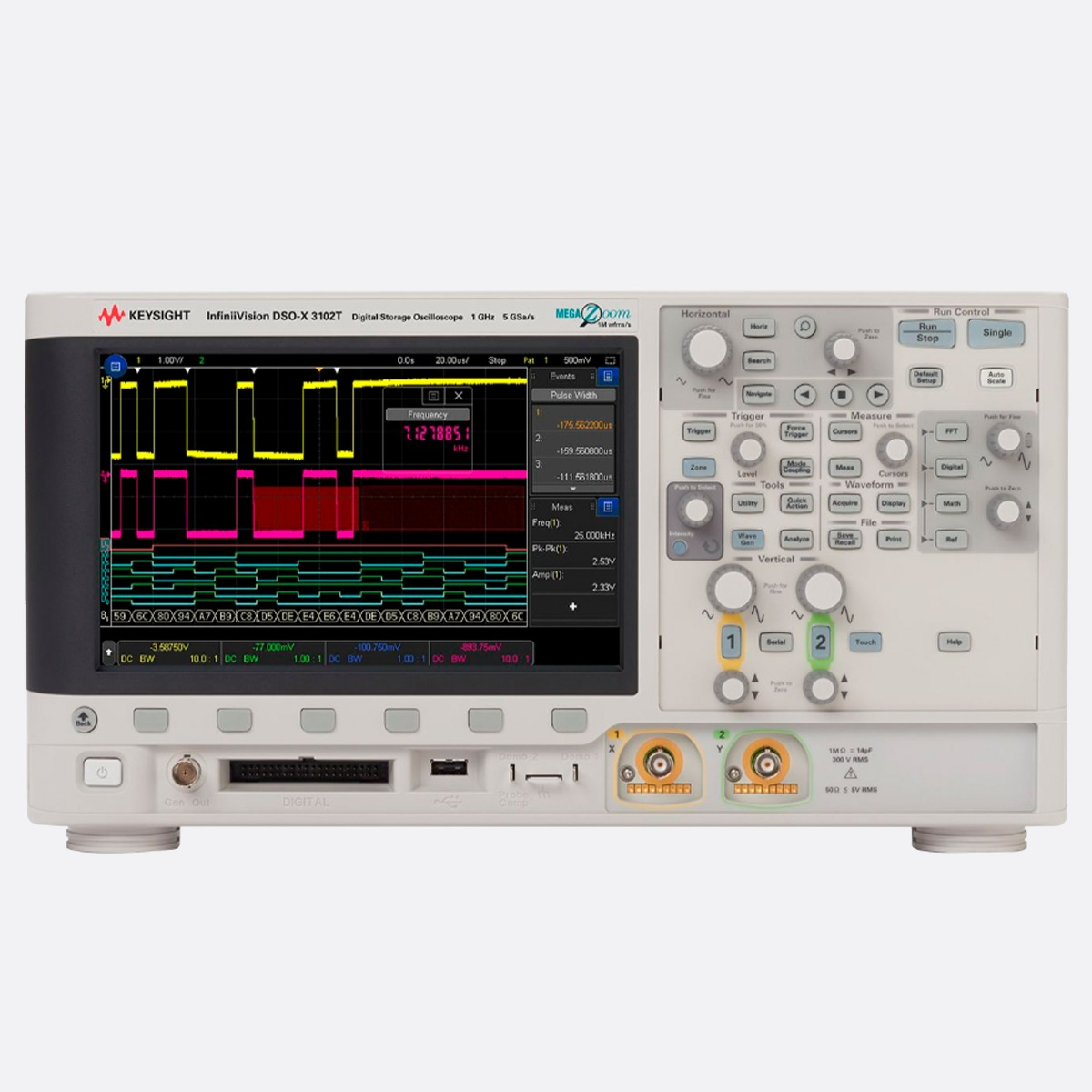 Keysight_DSOX3102T_Front_Ccontrols