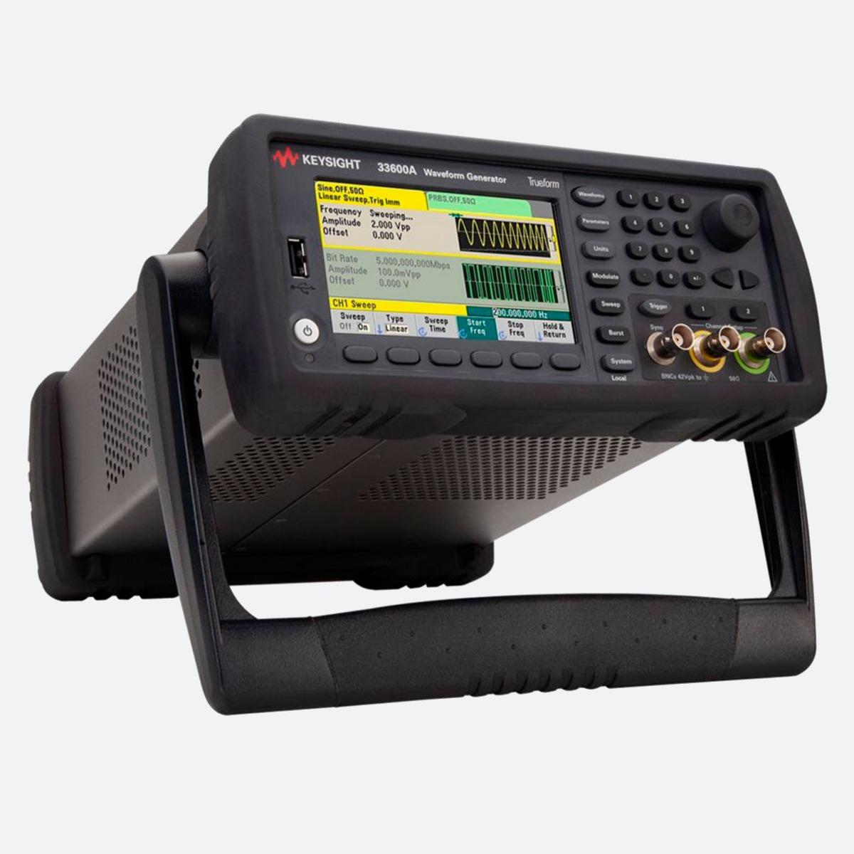 Keysight 33622A, 33621A, 33612A, 33611A, 33522B, 33521B, 33520B, 33519B, 33512B, 33511B, 33510B, 33509B Waveform Generator CControls