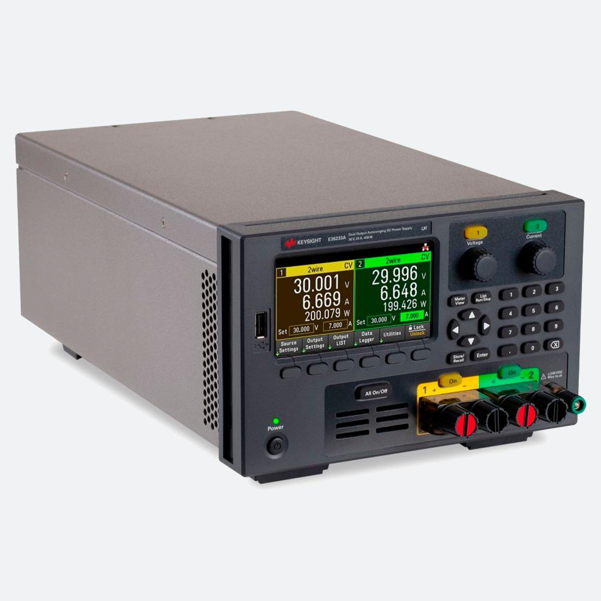 Keysight E36233A Power Supply CControls