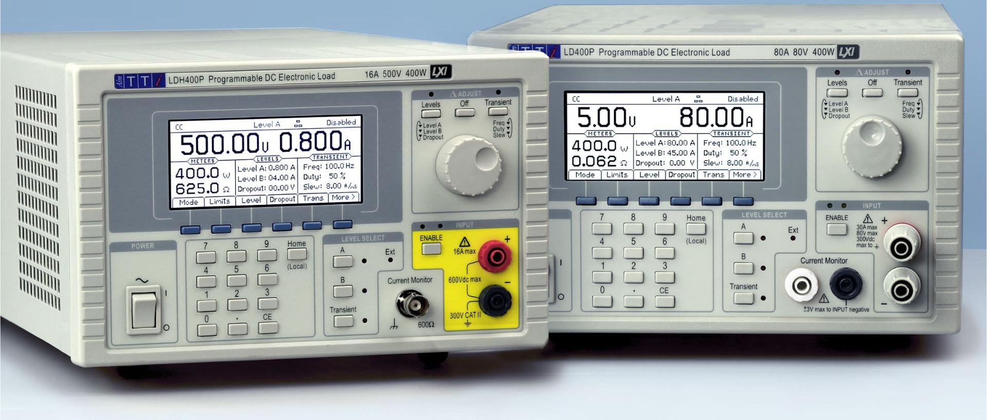 TTI LD400P series CControls