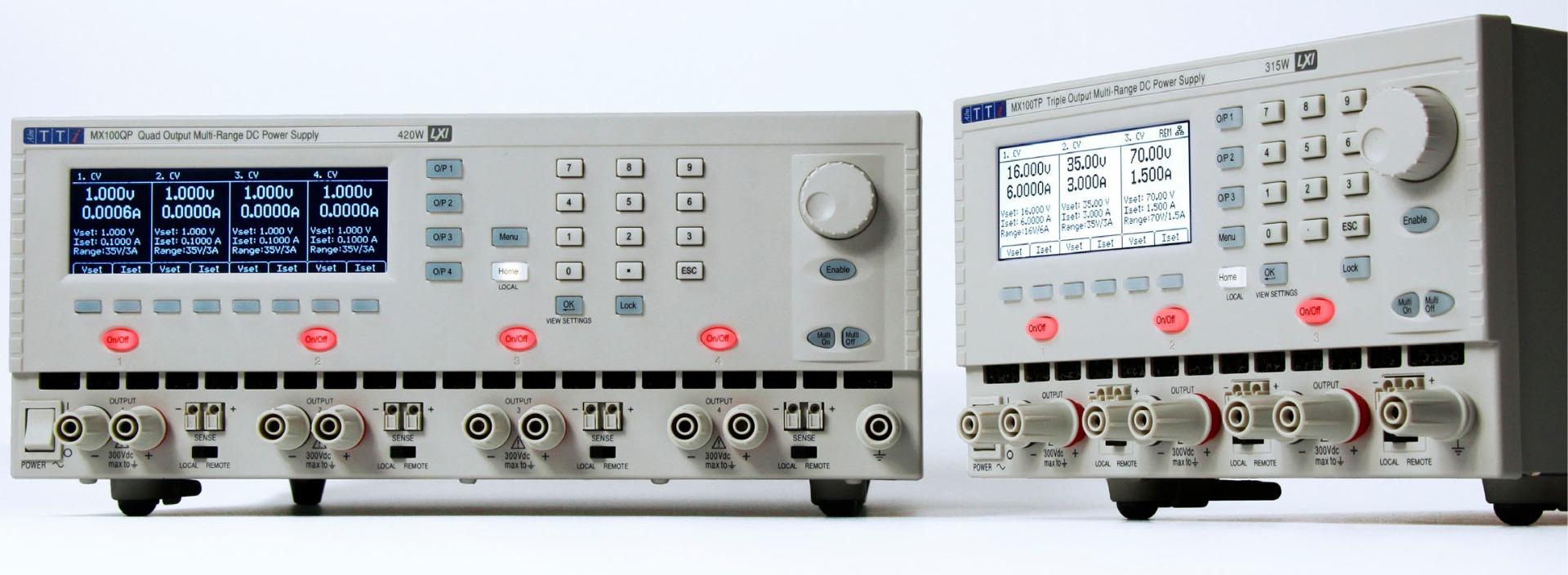 TTI MX100 series CControls